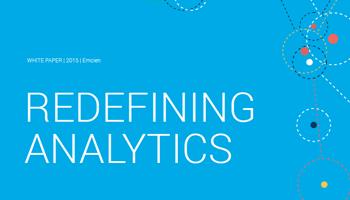 redefining analytics white paper